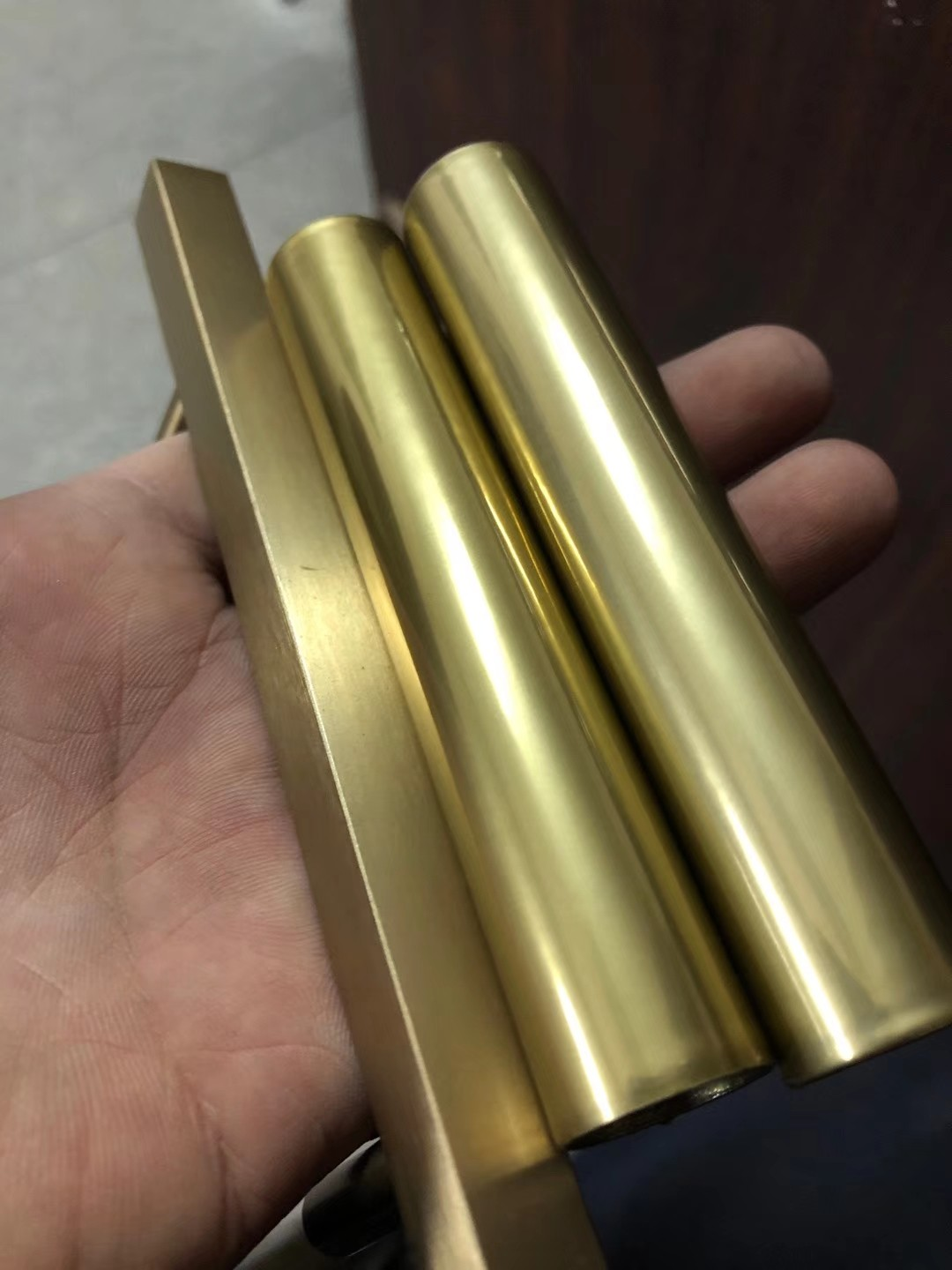 Imitation gold plating